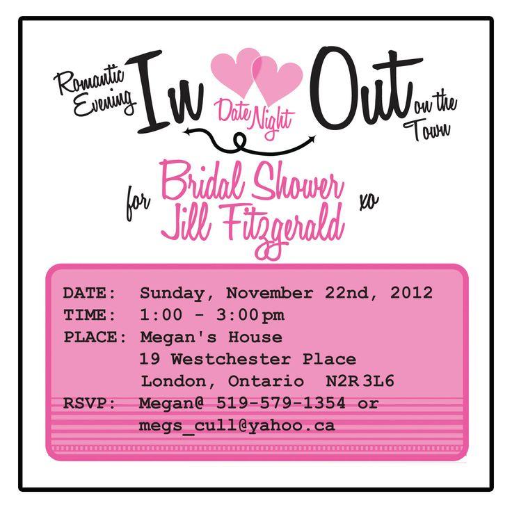 26 best Bridal shower ideas images on Pinterest Date nights