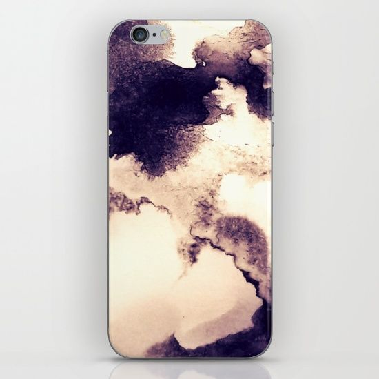 Coffee Cloudscape iPhone & iPod Skin