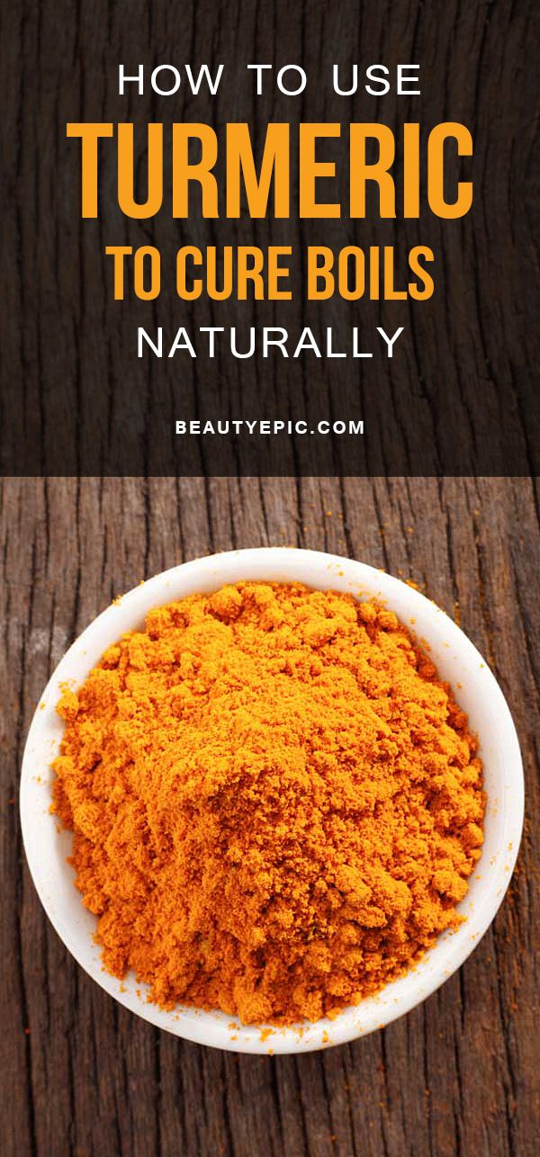 Turmeric for Boils: How to Use and Treat them at Home?