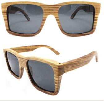 zebra wood solbriller