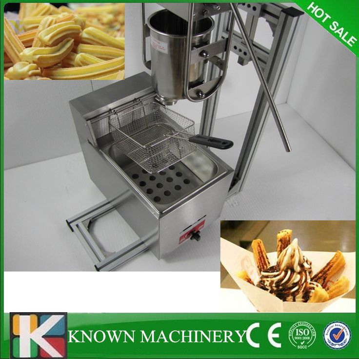 Manual Spanish stainless steel 6L gas fryer 3L Spanish churro churrera maker machine/Electric Fryer //Price: $US $700.00 & FREE Shipping //     #homeappliance24