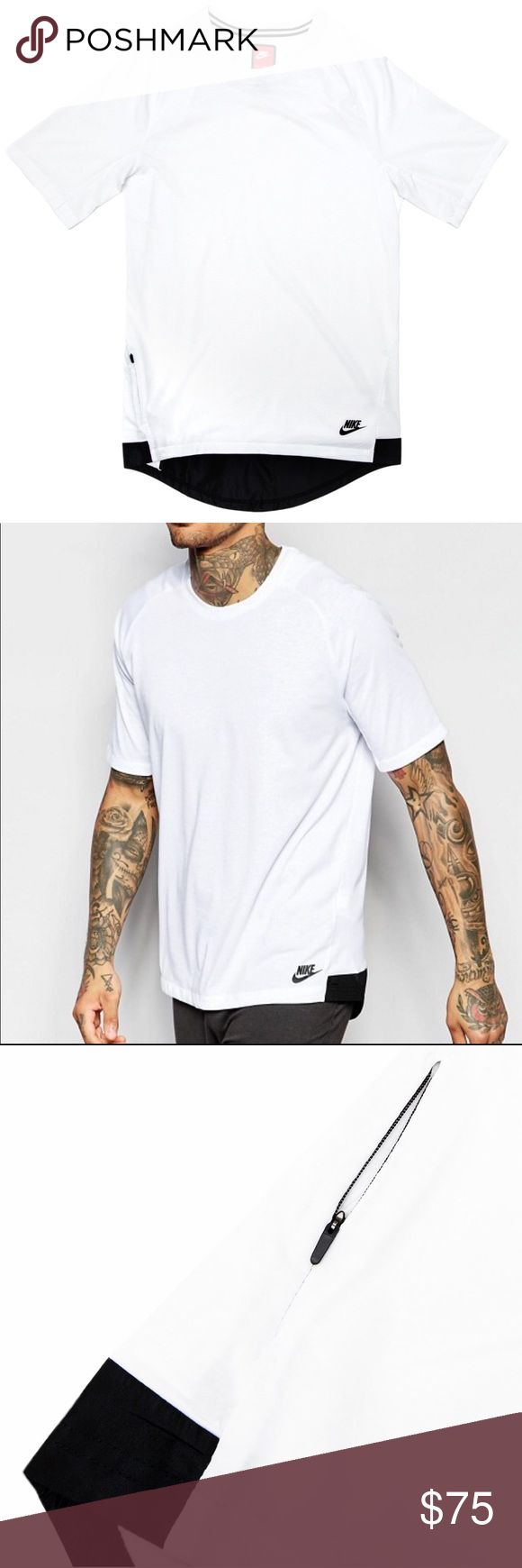 """NWT NIKE SPORTSWEAR BONDED T MENS SIZE XS & XL BRAND NEW MENS SPORTSWEAR BONDED TEE SHIRT MENS SIZE XS AND XL! 100% AUTHENTIC.   """"NO TRADES""""  ALL DISRESPECTFUL OFFERS GET BLOCKED!!!   ALSO, I DO NOT DISCUSS PRICING IN THE COMMENTS EVER!!!!  SHIPS SAME OR NEXT DAY FROM MY SMOKE FREE HOME.   REASONABLE OFFERS WILL ONLY BE CONSIDERED THROUGH THE OFFER BUTTON. ANY OFFERS IN COMMENTS WILL BE IGNORED.   BUNDLE DISCOUNT SUBJECT TO MY APPROVAL. ✨   TRUSTED RELIABLE SELLER. ALL PRODUCT IS 100%…"""
