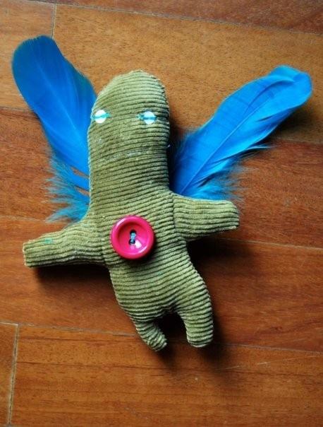 Mostrillo with wings  www.giorgiatzeni.it