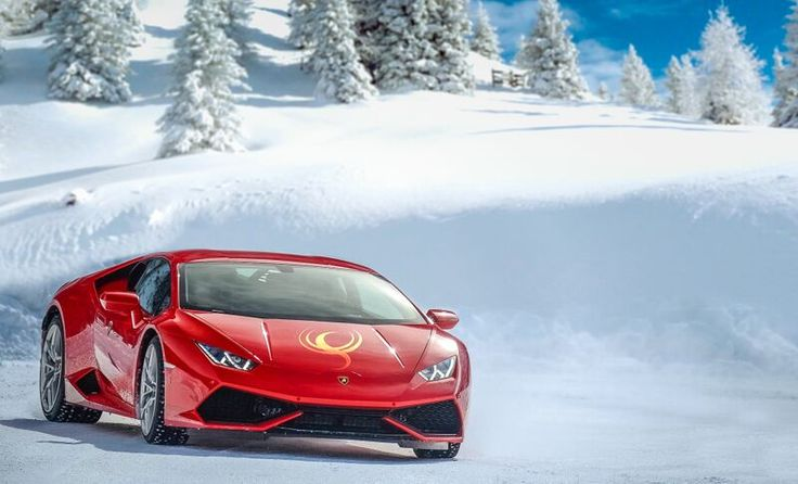 Finland-based Luxury Adventure travel enables you to take your supercar to Lapland or Iceland for a spin on an ice track.