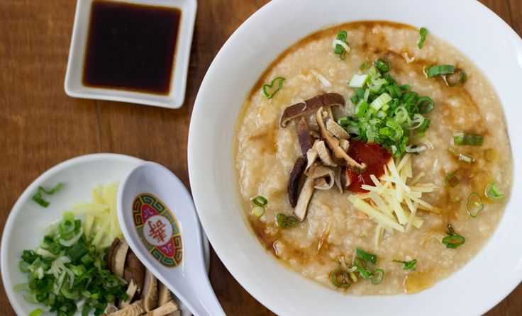 Congee, also known as jook, is the ultimate Chinese comfort food. Our version of this classic rice porridge is simple, adaptable, and filled with flavor.