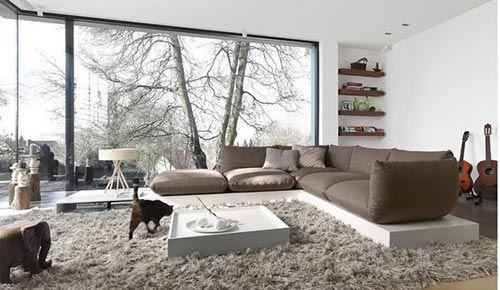 deze woonkamer heb ik gevonden op freshome een prachtige moderne