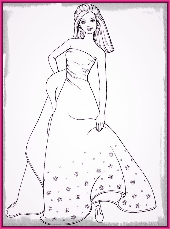 85 Best Fashion Colouring Pages Images On Pinterest