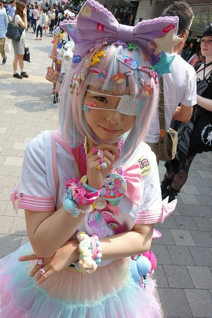 harajuku japan japanese street fashion cute kawaii pink