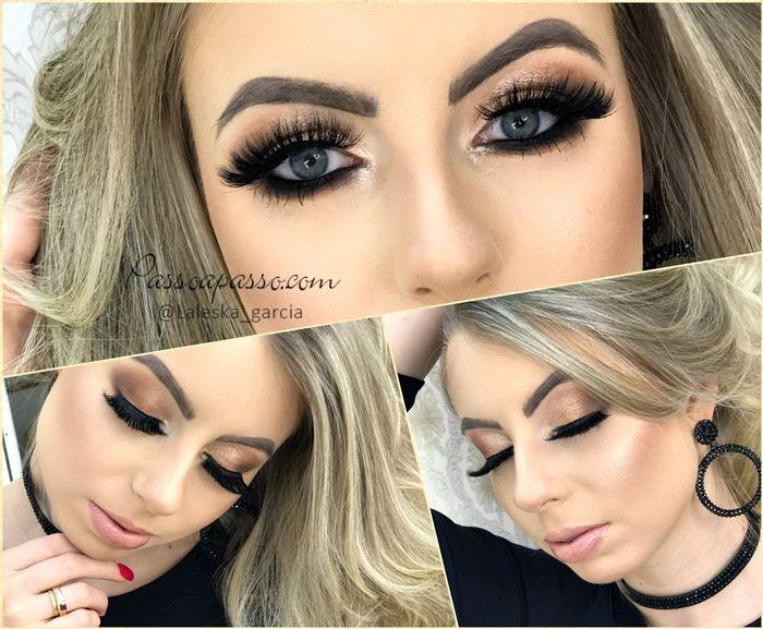 Maquiagem clean glamourosa - Laleska Garcia