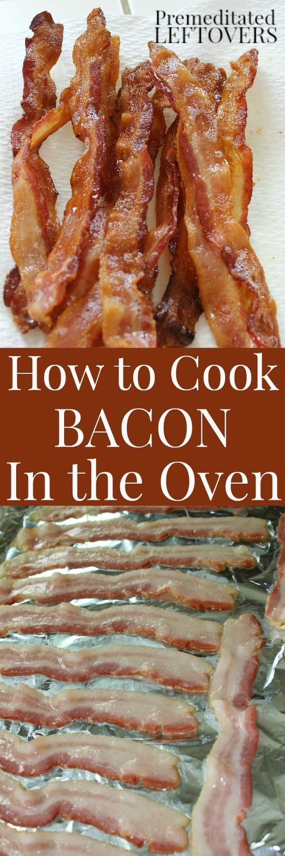 You can cook bacon in the oven. You are going to love this tip for how to cook…