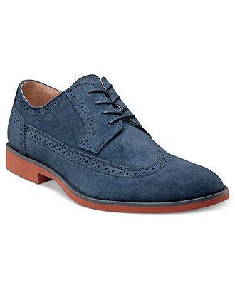 Stacy Adams Shoes, Dalton Wing-Tip Shoes - Lace-Ups & Oxfords - Men - Macy's