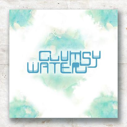 Clumsy Water is the modular typeface for the fiction book cover