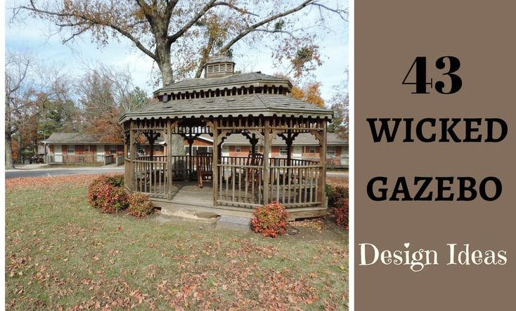 Many see the idea of a gazebo as a window into the past, when a separate space was needed for courting while still being chaperoned. The quaint charm of an outdoor room can still add character to a backyard space, especially if you have a large yard or a garden. But consider new options available to update the style of your outdoor gazebo. Don't settle for the traditional appearance. Take a look at some of the most wicked designs for outdoor spaces and ideas that can lead to inspiration f...
