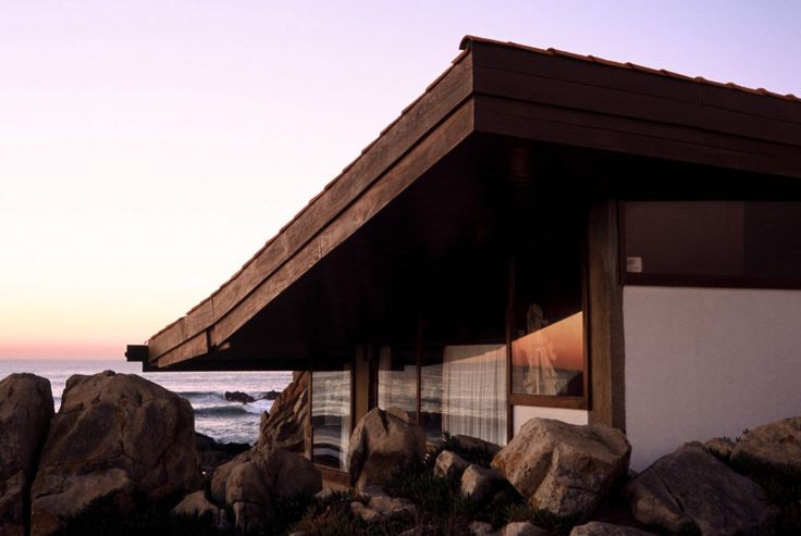 Casa de Chá da Boa Nova (Good News Tea House), Leça da Palmeira,Matosinhos, OPorto, Portugal by Alvaro Leite Siza