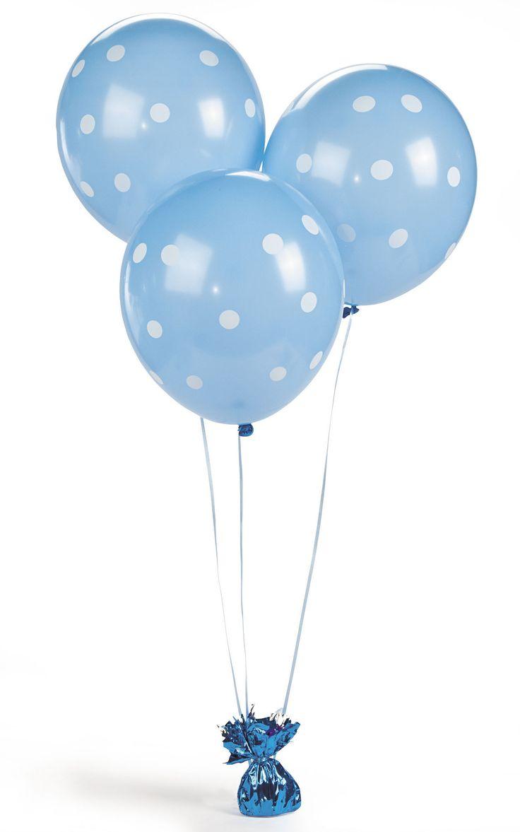 Polka Dot Balloons, Baby Shower