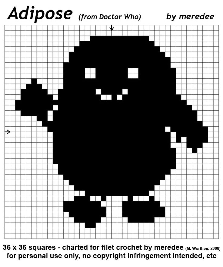 Free Knitting Patterns For Toys And Dolls : adipose - it says for crochet, but Im guessing it can be adapted for kni...