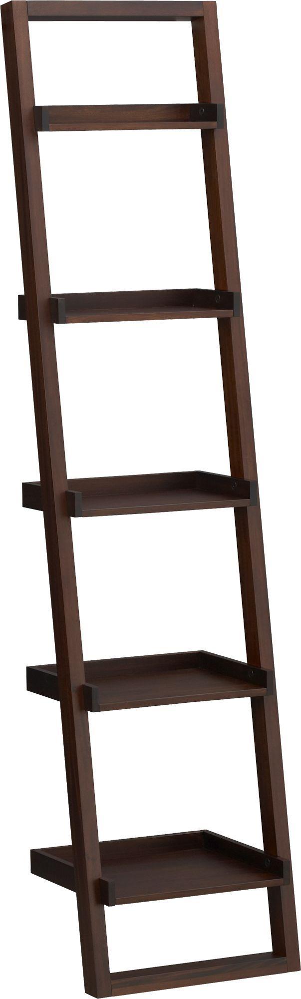"""Sloane Java 18"""" Leaning Bookcase"""