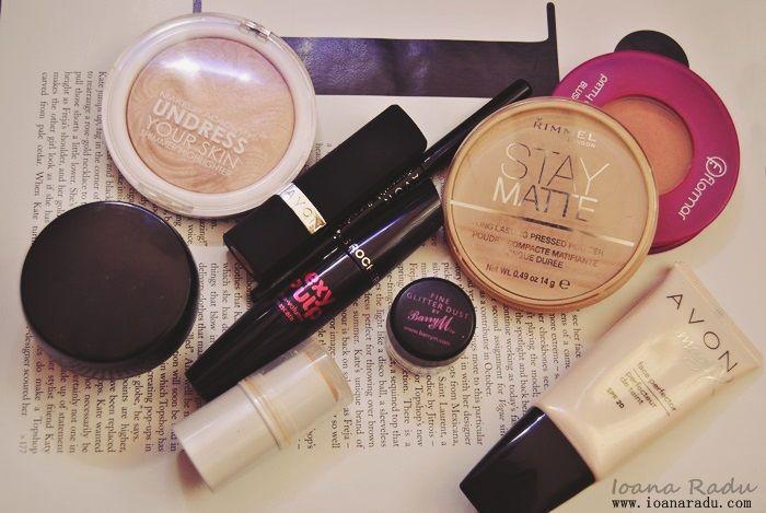 Leapsa produse cosmetice /  ioanaradu / Avon, Rimmel London, MUA, Barry M, Flormar