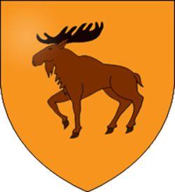 """La Casa Hornwood es una casa noble del Norte y vasalla de la Casa Bolton. Su asentamiento es Hornwood. Su emblema es un alce leonado con astas de sable en campo anaranjado oscuro. Su lema es """"Justos en la Ira"""". Sus tierras limitan con las tierras de la Casa Bolton y de la Casa Manderly."""