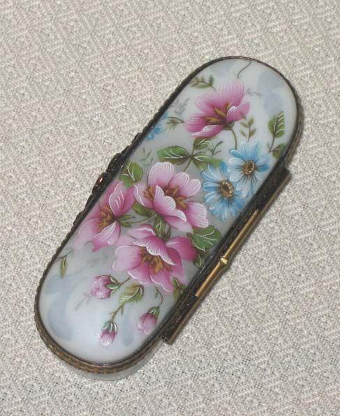 images of antique limoges boxes | Antique Hand Painted Limoges Porcelain Box | Porcelain Painting Ideas ...