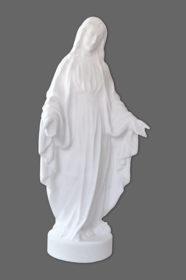 Matka boska marmur biały