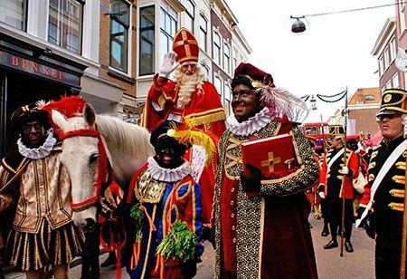 Intocht Den Haag, Sint en zijn Pieten