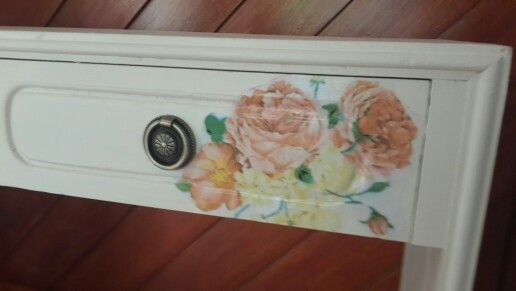 Old dressing table relived