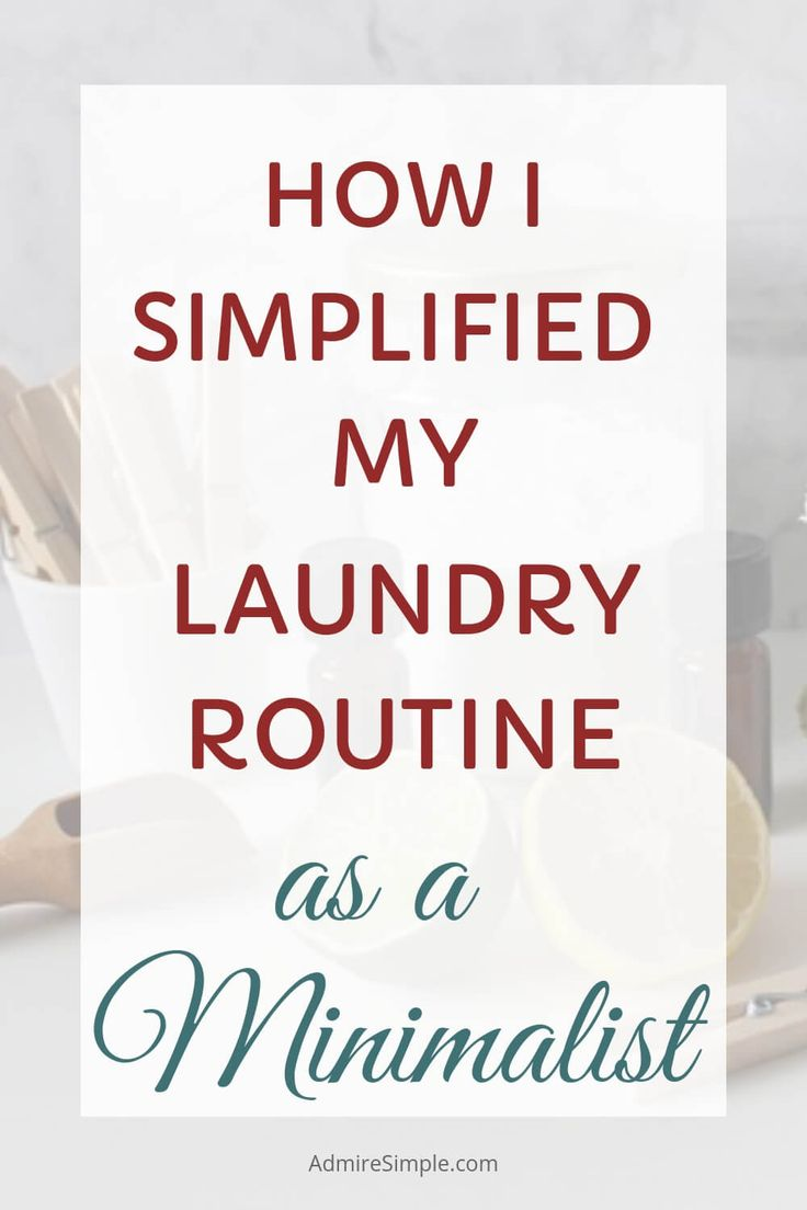 5 Laundry Habits as a Minimalist Cleaning, Cleaning