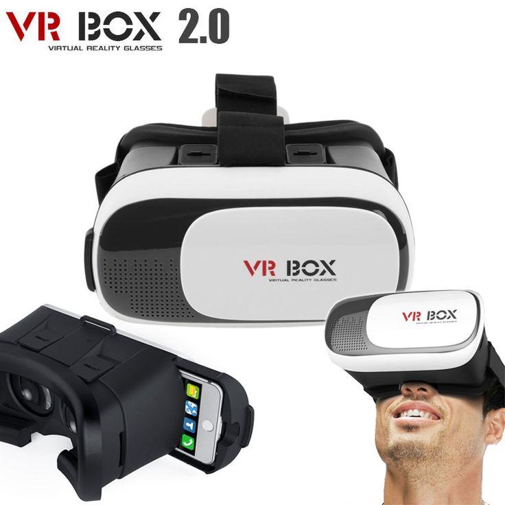 VR Box 2.0 Virtual Reality 3D Bril  Cool! De VR-Box 2.0 is onze nieuwste Virtual Reality Bril voorzien van nog meer handige features voor een ongeëvenaarde VR-beleving!De VR-Box heeft een gezichtsveld (FOV) van maar liefst 95 tot 100 - groter dan de meeste andere VR-Brillen (afhankelijk van de grootte van het beeldscherm van uw smartphone).Schuif uw smartphone in de VR-Box 2.0 en beleef heel eenvoudig de ongelooflijke wereld van 3D! Ervaar 3D films Virtual Reality games en spectaculaire 360…