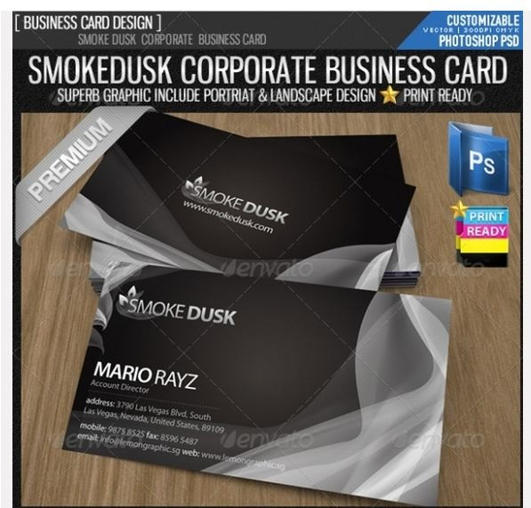 142 best design images on pinterest visit cards brand inspirative selection of 20 black business card templates with rewiev of black color meaning and its using in business card designing reheart Image collections