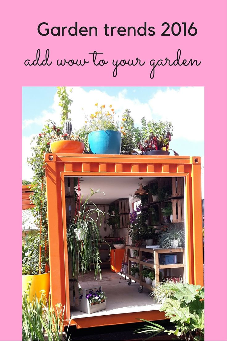 Garden Trends 2016   The Best Ideas For YOUR Garden