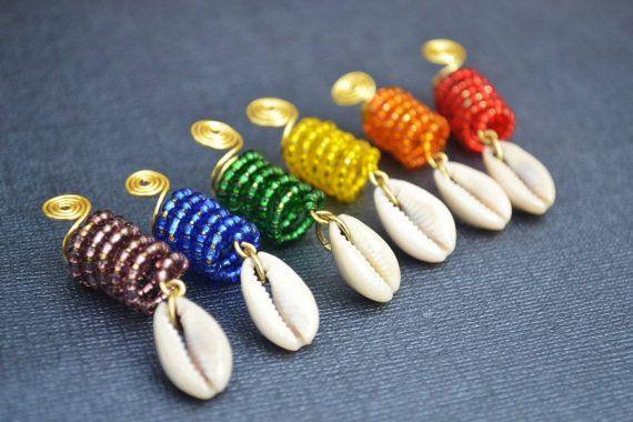 Dreadlock Jewelry Loc Jewelry Rainbow Dreadlock by MarcieRoxx