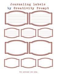 Freebies: Scrapbook Ideas, Printable, Crafts Ideas, Journals Labels, Blog Freebies, Journals Freebies, Art Journals, Crafty Ideas, Smashbook Journals