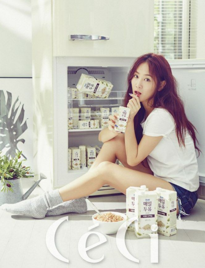 SISTAR's Soyou Reveals Focus On Health Rather Than Losing Weight For CéCi | Soompi