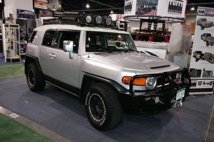 TOYOTA FJ CRUISER  | Toyota FJ Cruiser presented by Tuffy Security Products at 2007 SEMA