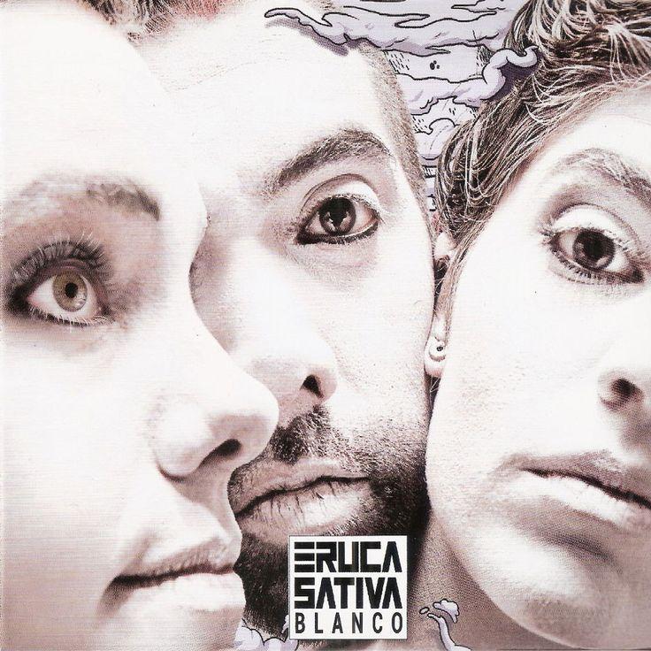 Caratula Frontal de Eruca Sativa - Blanco