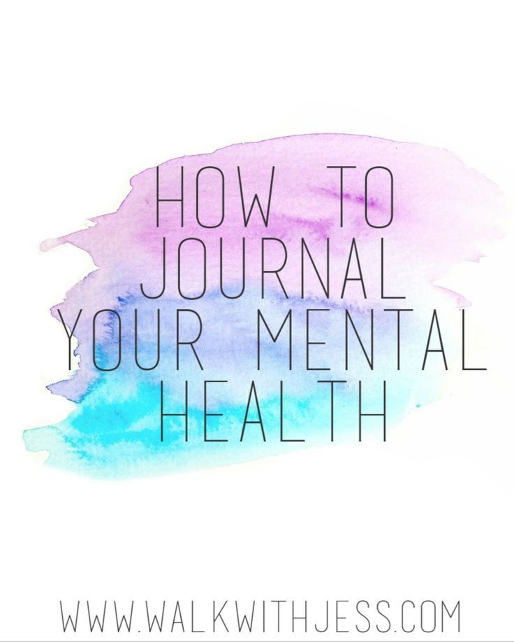 Mental health journaling is a really good activity to get involved in. Writing down your feelings helps process...