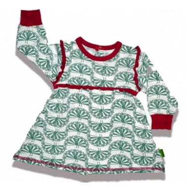 Plastisock Φορεματάκι Φολκλόρ Με Σχέδιο Παγώνι