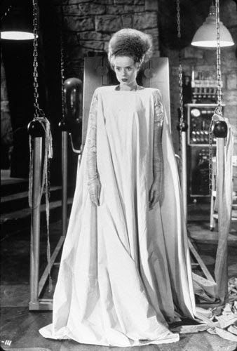 "Vintage Glamour Girls: Elsa Lanchester in "" The Bride of Frankenstein """