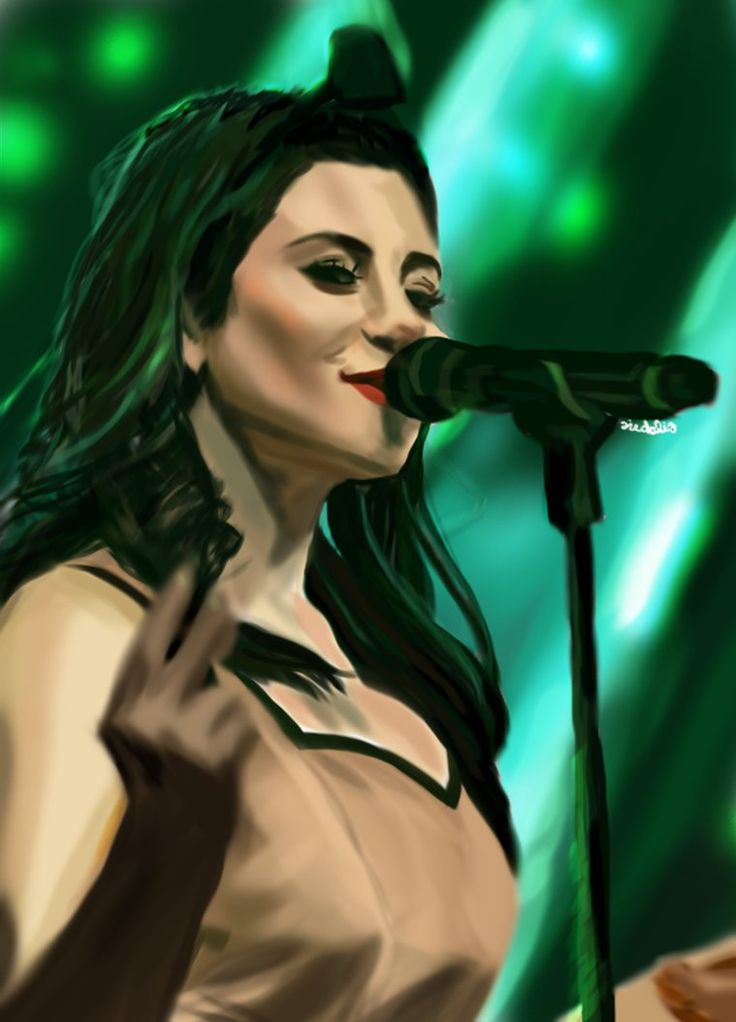 Marina and the Diamonds::Lights by fullcolour-canvas.deviantart.com on @DeviantArt