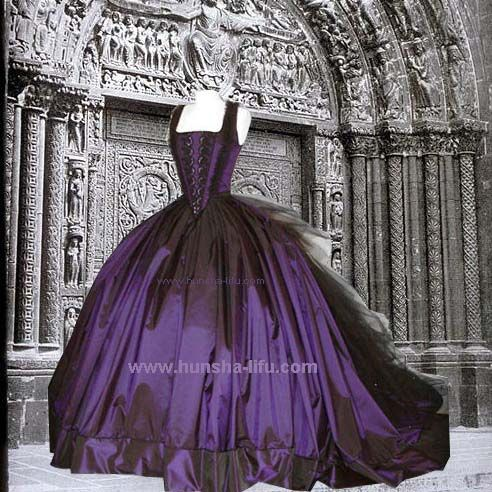cheap gothic wedding dresses - images - dressesphotos.