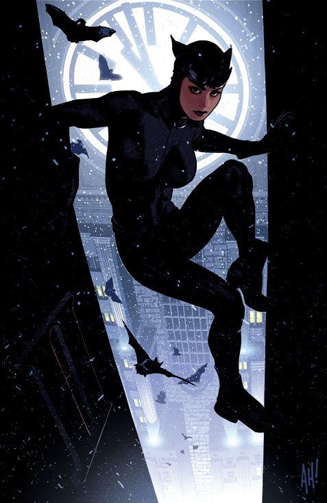 Catwoman 64 by AdamHughes on DeviantArt