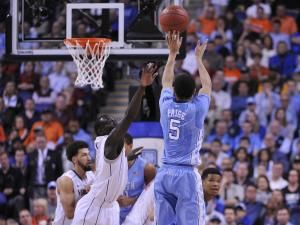 UNC led by as much as 13 in the second half before UVA's Malcolm Brogdon went on a tear and cut it to one with a minute to play. A Marcus Paige bucket and made free throws saved the 71-67 victory for UNC. The Tar Heels advance to the ACC final Saturday and will play the winner of the Duke/Notre Dame game.