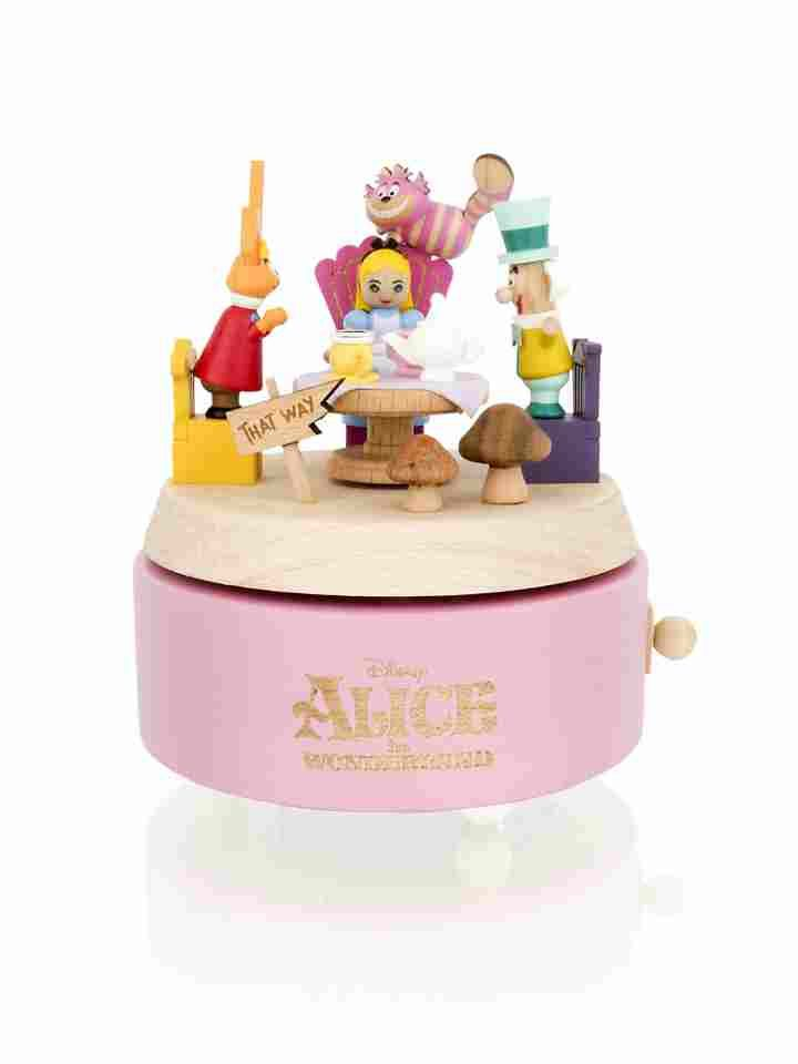 Wooderful Life Disney Alice In Wonderland Music Box Music Boxes