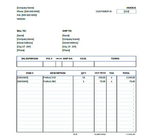 Downlodable Sales Invoice Template , Free Invoice Template Download You Can Customize as You Need! , The invoice template download is a free solution you can always benefit from in order to help your business establishing an effective invoicing system... Check more at http://templatedocs.net/free-invoice-template-download
