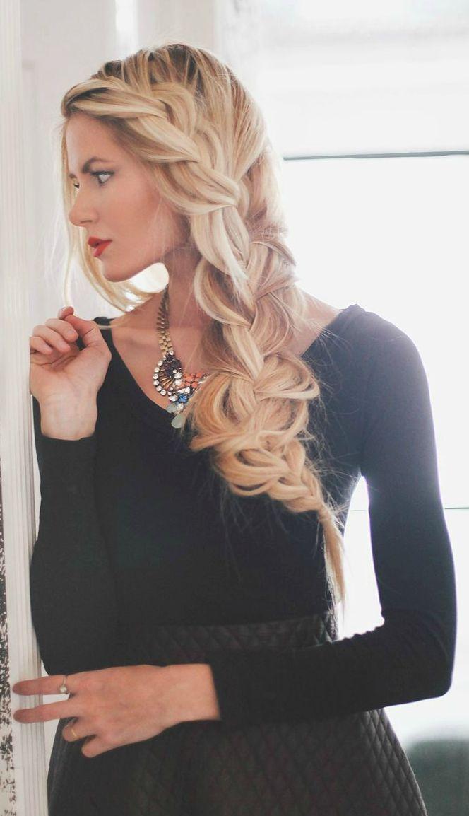 Splendid Blonde Hair Braid by Barefoot Blonde