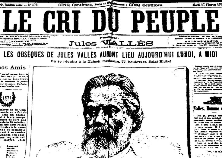 De retour d'exil, grâce à l'aide financière d'Adrien Guebhard et à la collaboration intellectuelle de Séverine, la compagne de ce dernier, Jules Vallès relance le journal le 28 octobre 1883. Cette seconde version continue à paraître après la mort de son fondateur, dirigée, durant les premières années, par Séverine.