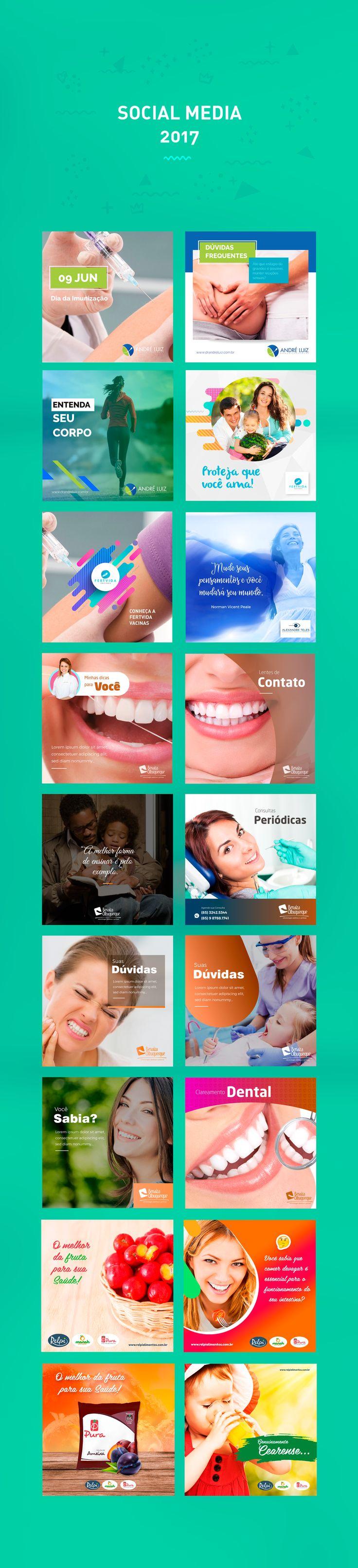 Social Media Design Posts on Behance