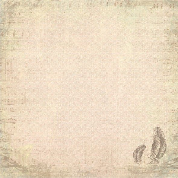 Romantic Melody - Papier 01 » Papiery do scrapbookingu » LEMONADE Scrapbooking, cardmaking, papercrafts