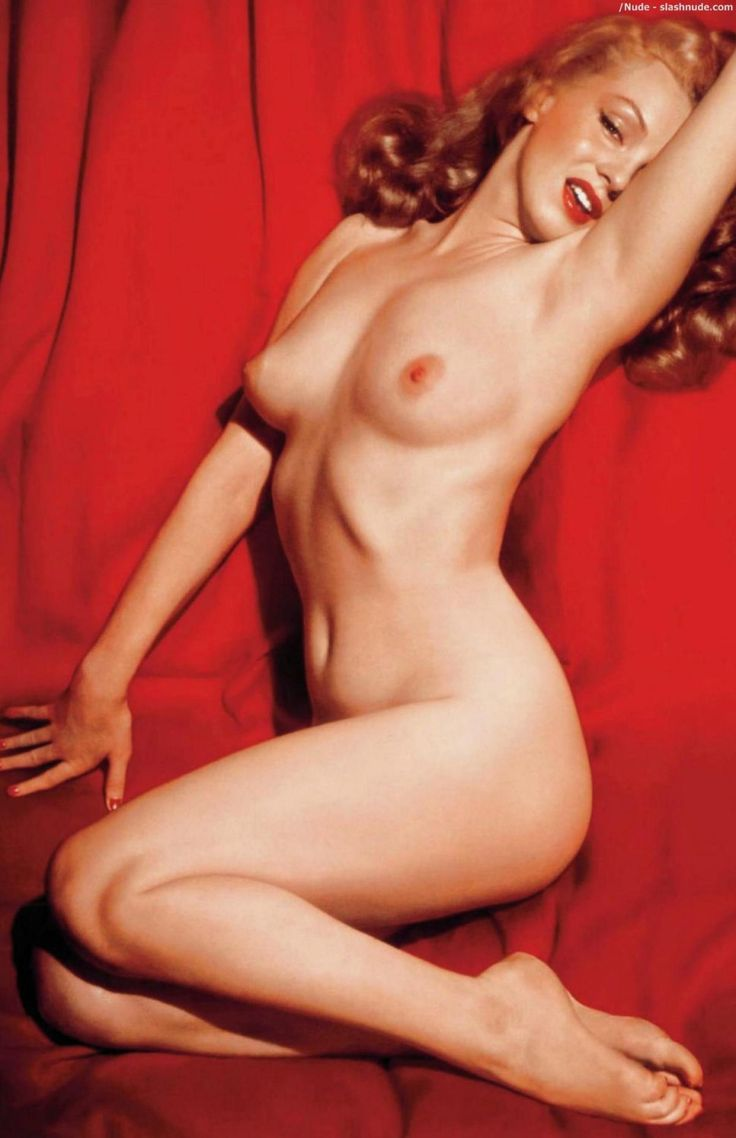 How Marilyn Monroe appeared nude in first issue of Playboy